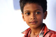 Portrait of Indian Village Boy