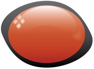 icona ovale rossa