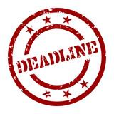 stempel deadline I poster