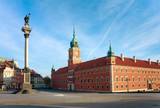 Fototapety Warsaws - Royal Castle and Sigismund's Column