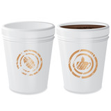 Two paper coffee cup on a isolated   background,vector
