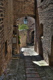 Fototapety Alleyway. Spello. Umbria.