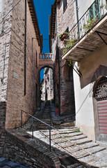 Arch of Augustus. Spello. Umbria.