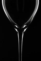 Weinglas im Detail