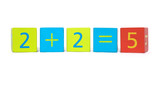 Early Learning - Building Blocks Showing Incorrect Maths Sum
