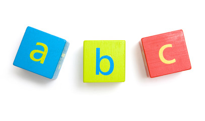 Early Learning - Building Blocks Showing ABC Alphabet Letters