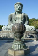 Grosser Buddha ( Daibutsu ) in Kamakura, Japan