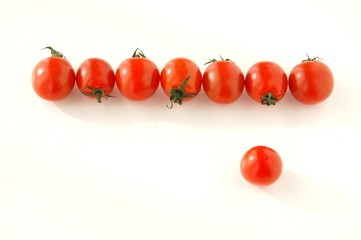 8個のミニトマト