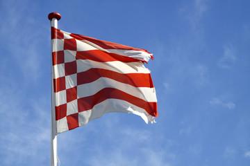 Fahne der Freien Hansestadt Bremen