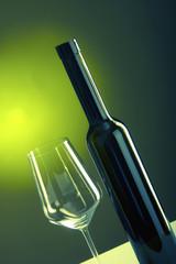 Wein Flasche Glas