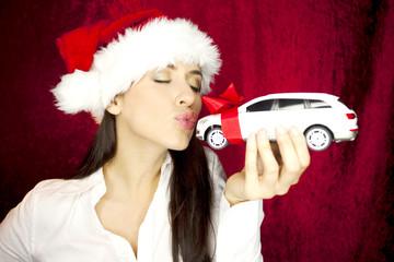 Wunsch zu Weihnachten Auto
