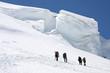 Vers le Mont Blanc