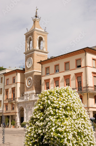 Clock Tower in Rimini