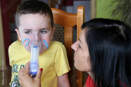 Nebuliser, inhalation therapy