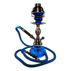 Blaue Wasserpfeife - Nargile - Sheesha - Hookah
