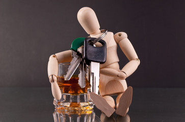 Don't Be a Dummy ( Drinking and Driving Concept )