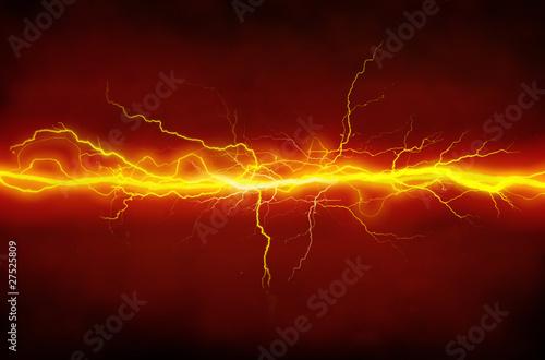 Leinwandbild Motiv lightnings