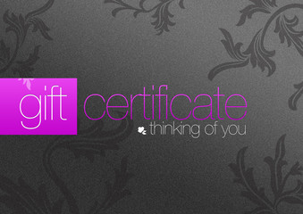 Gift Certificate - Thinking of you