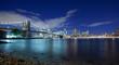 New York Panoramic at night