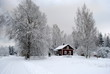 Winter in Schweden