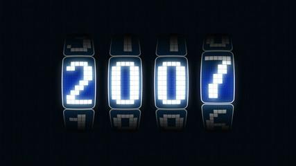contador año 2000 a 2011