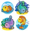 Various freshwater fishes 1