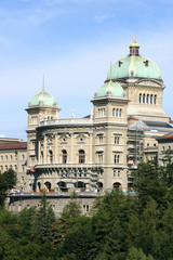 Swiss parliament in Berne