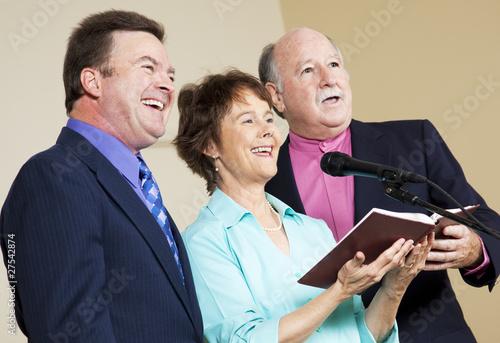Leinwandbild Motiv Spiritual Singers