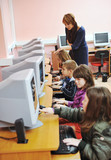 it education with children in school