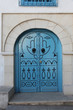 Traditional door from Sidi Bou Said, Tunis