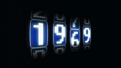 contador año 1900 a 2011