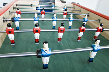 table soccer football game