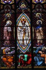 Vitrail de l'église des neuf choeurs, Vienne