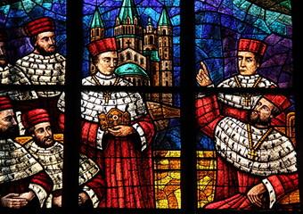 Vitraux de l'église des neuf choeurs, Vienne