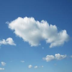 High resolution blue sky background