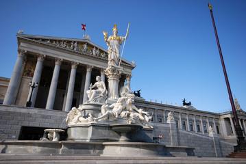 parliament in Vienna(Austria)