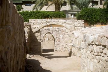 Ruins of medieval Ayla city, Aqaba, Jordan