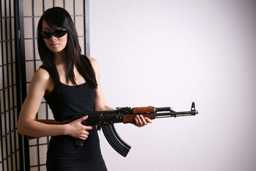 Asiatische Gangsterbraut