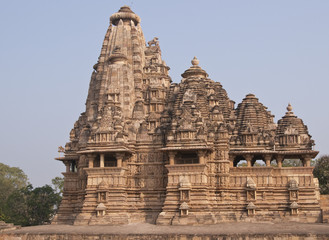 Ancient Vishvanatha Hindu Temple at Khajuraho, India