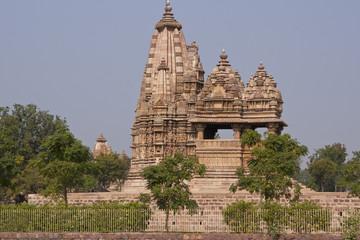 Javari Hindu Temple in Khajuraho, Uttar Pradesh, India.