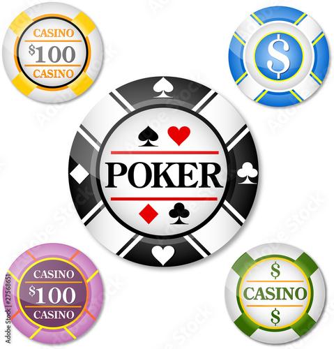 Poker, casino, dollar