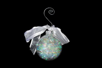 Glass Ball Christmas Ornament