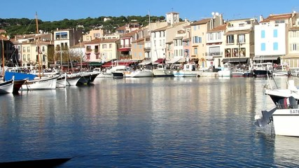 Port de plaisance de Cassis