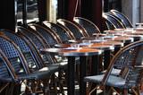 Café terrace in Paris - 27573415