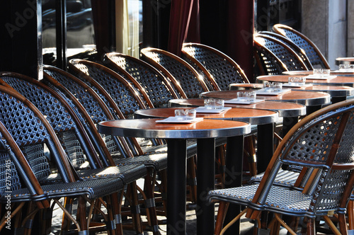 Papiers peints Paris Café terrace in Paris