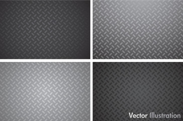 Vector metal texture pattern
