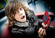 jeu vidéo console addiction addict enfant garçon fou crise dan