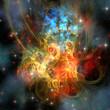 Fototapete Sci-fi - Sonne - Andere