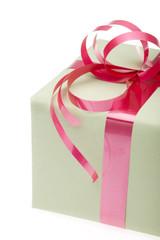 present box isolated onwhite background