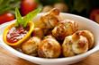 Garlic Bread knots 1
